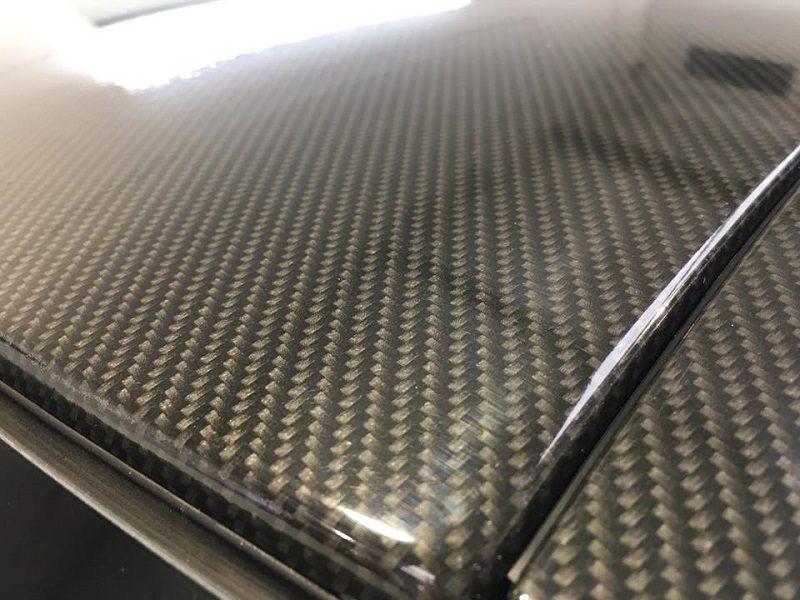 Carbon Fibre roof Wrap