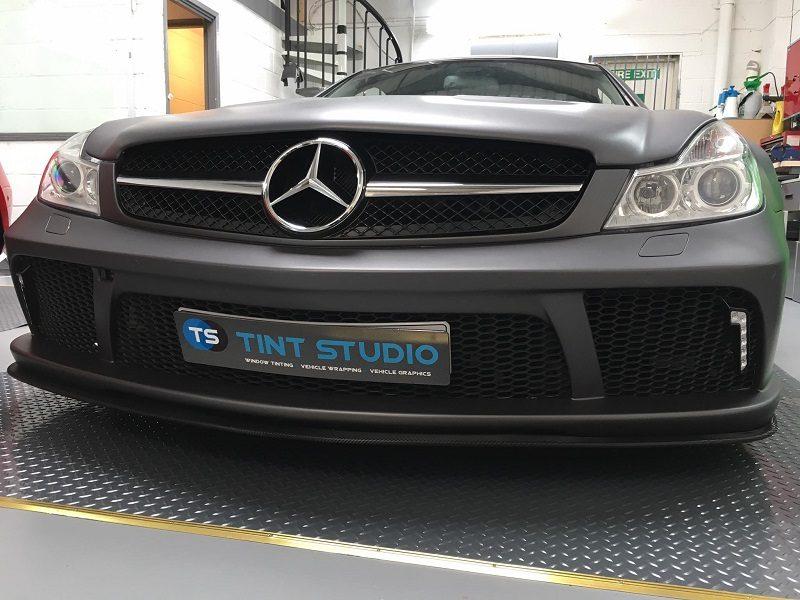 Mercedes Grey Wrap
