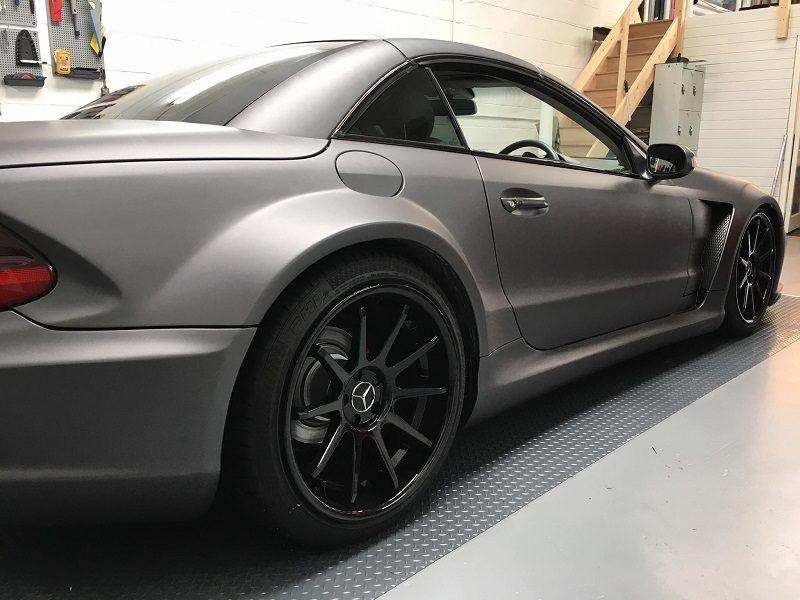 Mercedes Vehicle Wrap