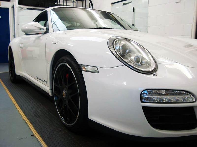 Porsche paint protection & decal