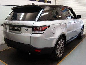 Range Rover Window Tinting - Tint Studio