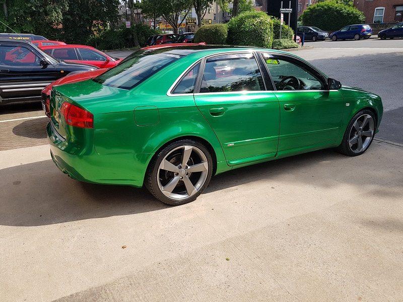 Audi Radiactive Green