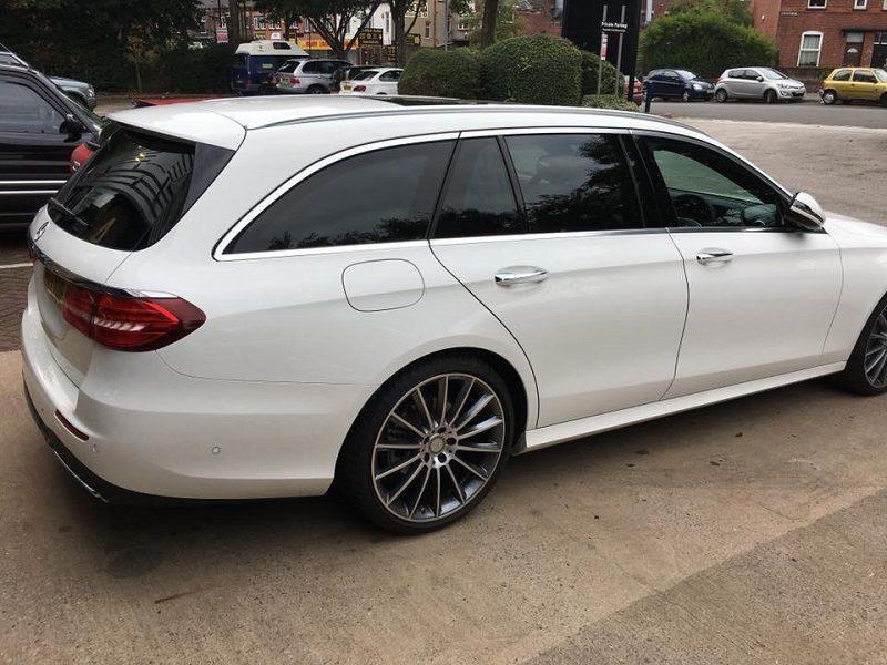 Mercedes Window Tint
